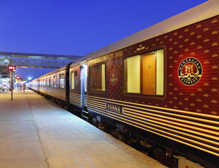 Maharajas'+Express,+India