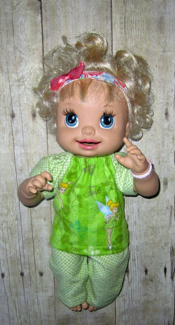 Super Snackin Sara Baby Alive Doll Clothes Tinker Bell
