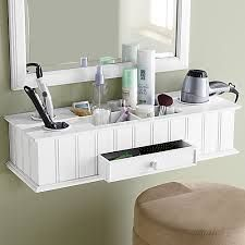 hair dryer curling iron holder wall mount - Google Search
