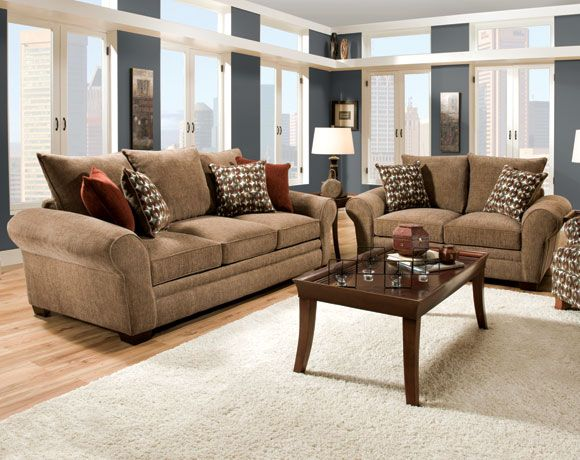 Resort Harvest Sofa U0026 Loveseat | Living Rooms | American Freight Furniture Part 90