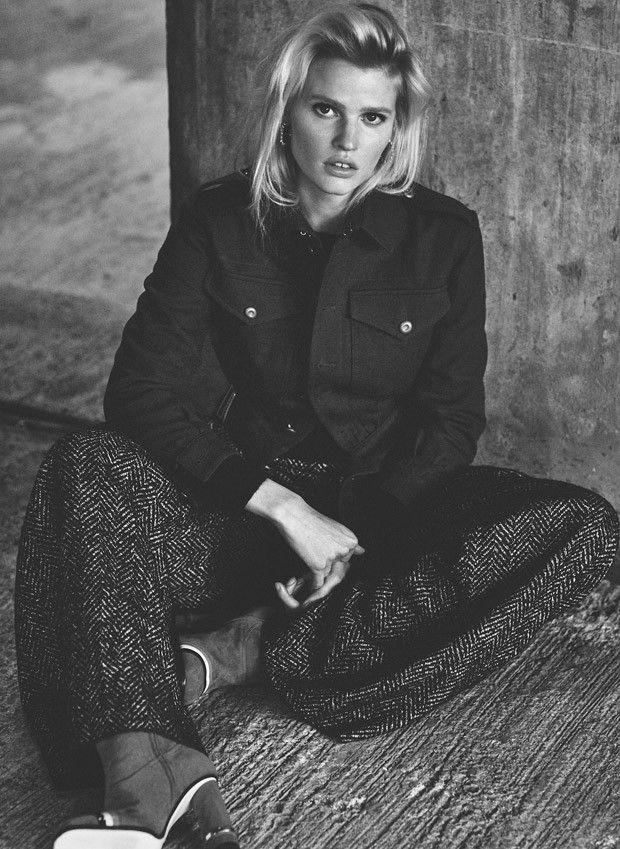 Lara Stone for Russh Magazine by Emma Tempest