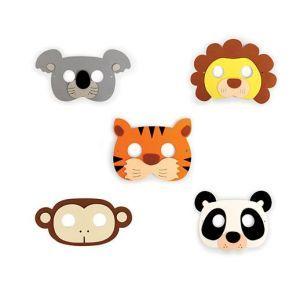 Kikkerland Jungle Party Masks