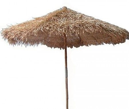 Bamboo Umbrella For Patio Table
