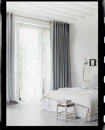 Kanten gordijnen slaapkamer  droomhuis  Pinterest