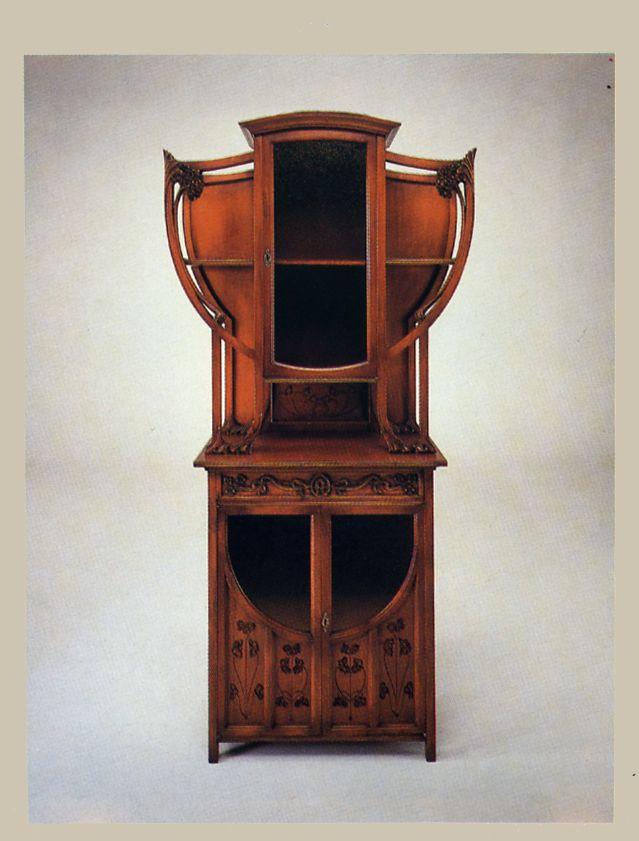 Art nouveau furniture designers the for Arredamento art nouveau