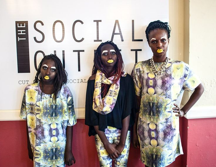 The Social Outfit collaboration with Nina Maya, printed by The Printing Studio!