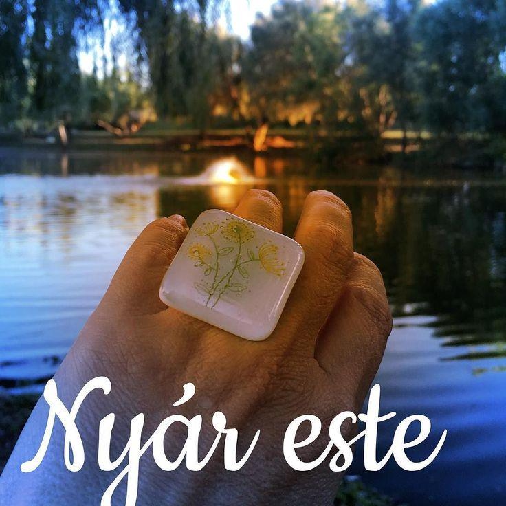 #nyiriandrea #jewelry #nyár #tópart #ékszer #ring #gyűrű #virág