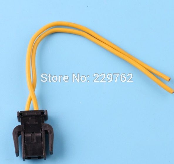 2 pin car auto Brake Tail Light Glove Box Wiring Plug Connector electrical connector 893971632 893 971 632 For VW Golf Audi A4