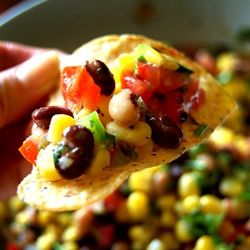 """Cowboy Caviar Recipe ~ is a delicious, healthy bean salsa with corn, jalapenos, cilantro and lime... """"To explain how good this was, my husband and I ate it for breakfast, lunch, dinner, and as a snack for the whole weekend. We polished it off last night."""""""