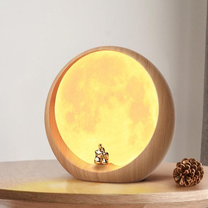 Moonlight Touch Sensitive Lamp Novarian Decor Moon Clouds Touch Sensitive Lamp Night Light