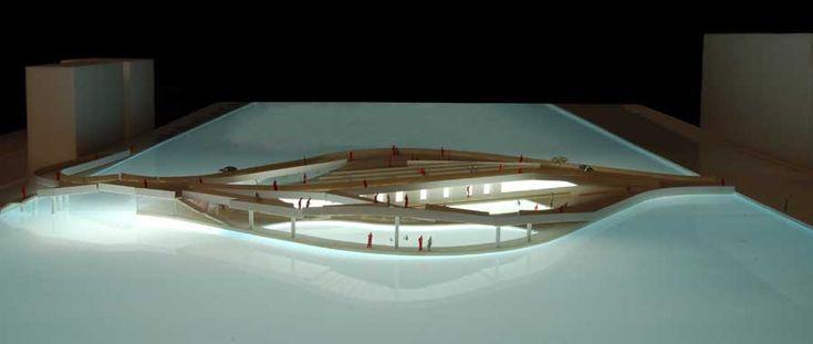 model for public baths