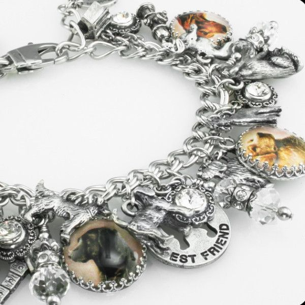 Charm Bracelet - My Everlasting Love - 4 by VIDA VIDA KPKDPGsaW