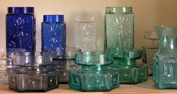 1960s Dartington Glass by Frank Thrower