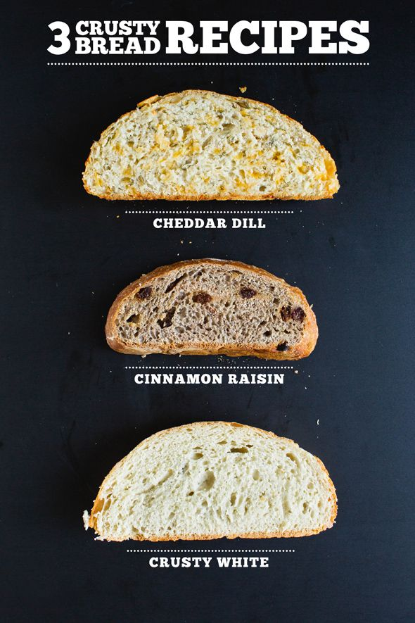 3 No-Knead Crusty Bread Recipes - Say Yes to Hoboken
