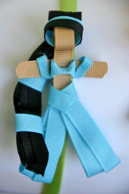 Day 5: Jasmine Inspired Disney Princess Ribbon Sculpture Pattern: Jasmine Inspiration, Ribbons Sculpture, Disney Princesses, Sculpture Patterns, Disney Ribbons, Inspiration Disney, Hair Bows, Princesses Ribbons, Hair Clip