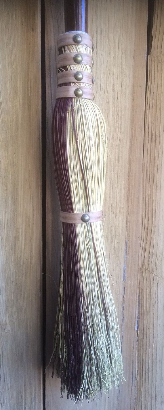 While most of our brooms are designed to be excellent sweeping brooms as well as attractive, this is not a sweeping broom. This is a flying broom.