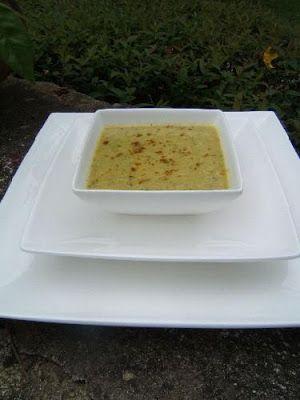 """Le journal gourmand de Sacha """" Blog principal"""": Soupe de courgette  à l'indienne"""