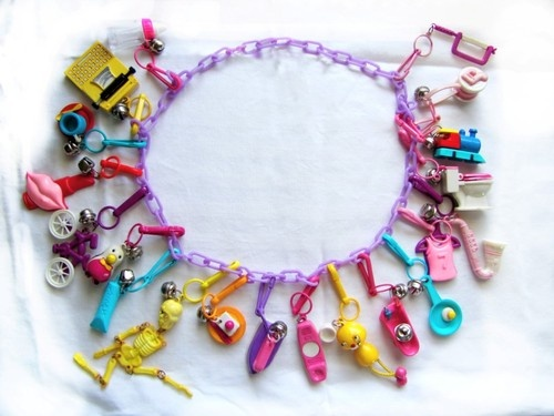 80s charm bracelet 80 s plastic charms i loved these things blast 5263