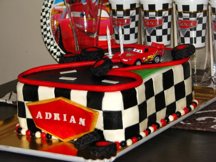 Cars cake for Adrian's 2nd birthday XII