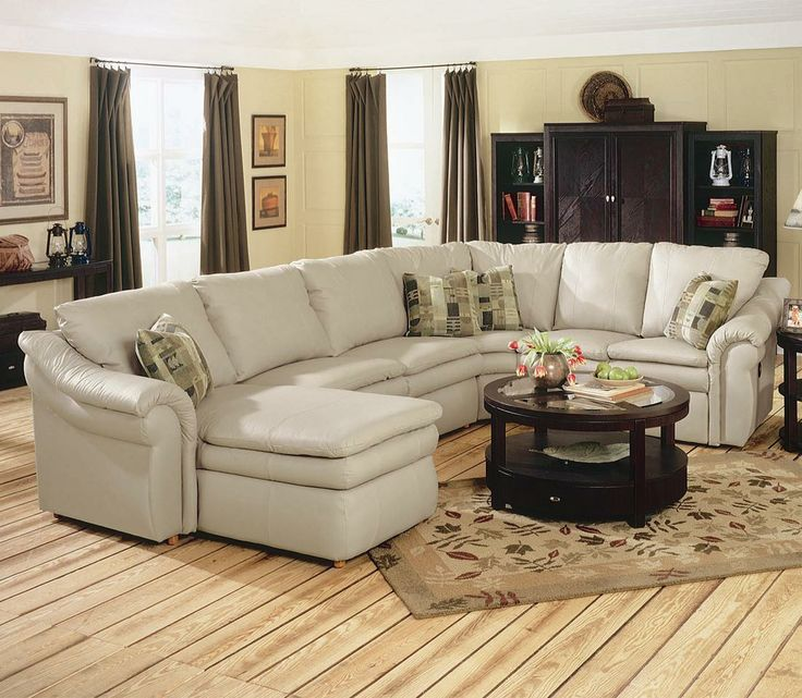Lazy Boy Sectionals >> Devon sectional with sleeper | La-Z-Boy | Pinterest | Reclining sectional sofas, Reclining ...