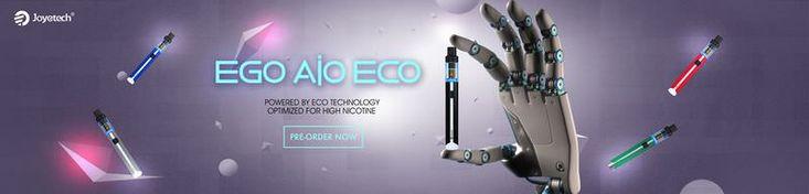 Joyetech eGo AIO ECO, Ultimate Vape Gadget for High Nicotine Dose