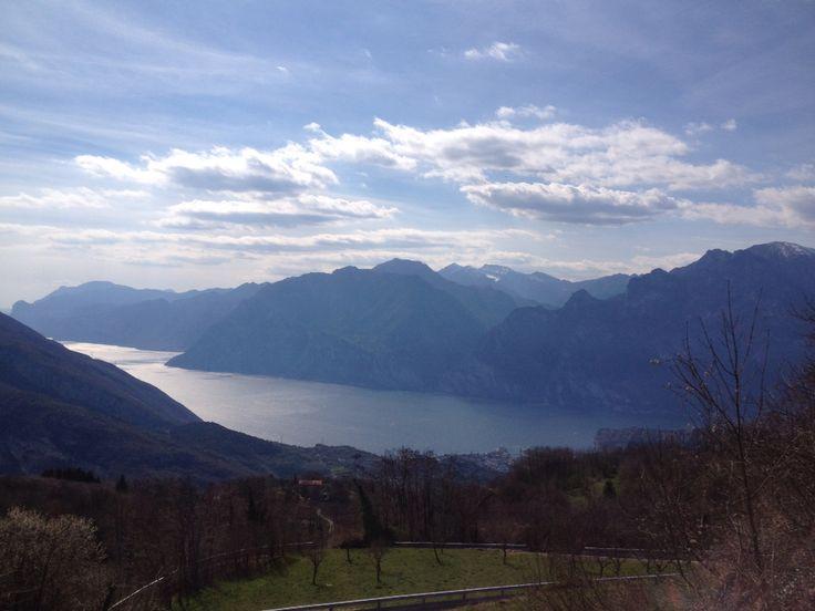 Lake Garda from above