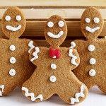 Gingerbread men Ετοιμάστε τα gingerbread  cookies για να δώσετε ένα Χριστουγεννιάτικο άρωμα στο σπίτι σας.
