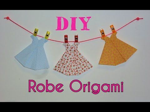 DIY Robe Origami - Tutoriel Facile