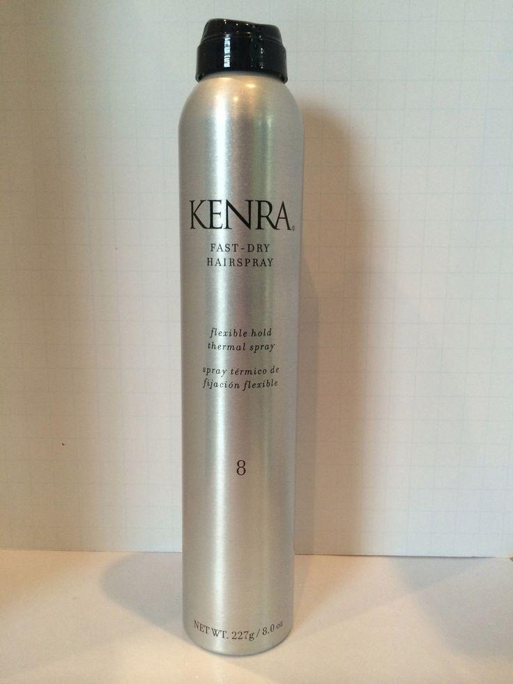 Kenra #8 Fast Dry Hairspray Flexible Hold Thermal Spray - 8Oz !