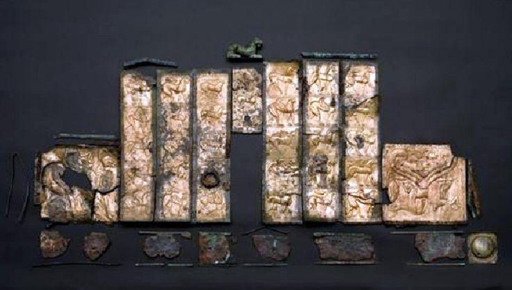 Grazie a un accordo siglato dal Mibact con il Ny Calsberg Glyptotek di Copenhagen, torna in Italia il carro sabino a decorazioni dorate, reperto archeologico