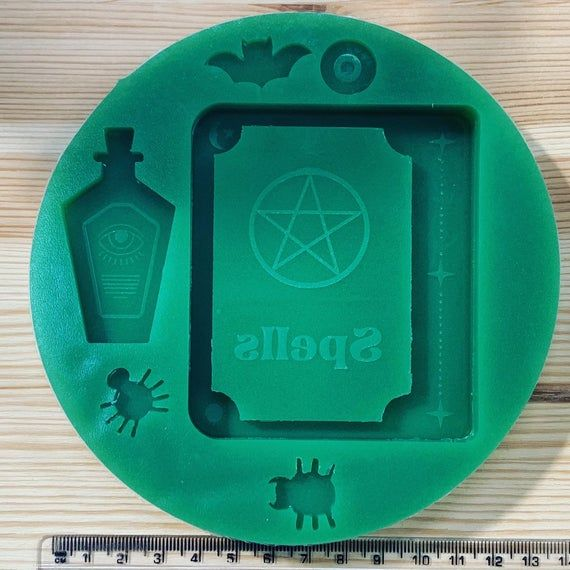 Poison Bottle Shaker Mold Silicone Resin Crafting Kawaii Spooky