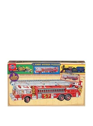 33% OFF T.S. Shure Vehicles Jumbo Wooden Puzzles