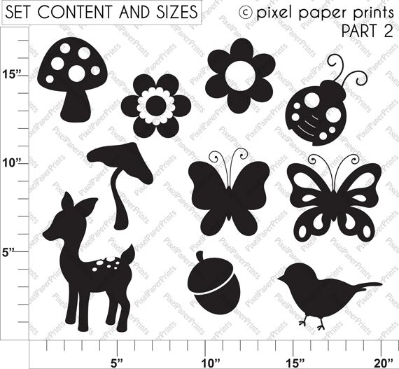 111 Best Scanncut Simple Silhouettes Images On Pinterest