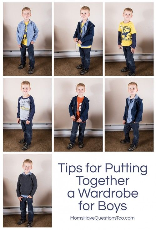Back to School Clothes: wardrobe tips, clothes shopping list, plus picture examples of how to create outfits. Great tips for boys and girls.