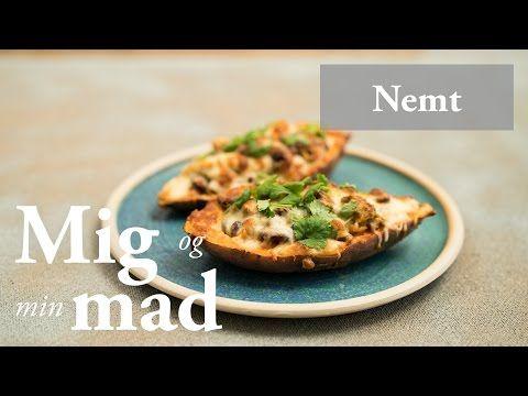 Bagte kartofler med lækker mexicansk fyld - få opskriften her