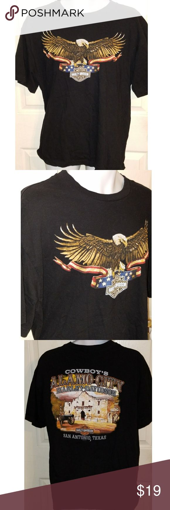 Harley Davidson San Antonio Alamo Mens T-Shirt XL This is a mens XL Harley Davidson t-shirt for San io.The chest measures 23 inches and the length is 29 inches. Harley-Davidson Shirts Tees - Short Sleeve