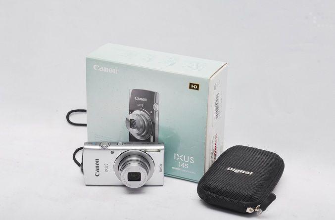 Jual Kamera Digital Bekas – Canon Ixus 145 Fullset: Kamera Digital Bekas - Canon Ixus 145 Fullset Harga: Rp. 675.000,- (Ready Stok)