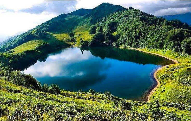 Dhaya lake at Tmazguida wilaya of Medea Algerie is