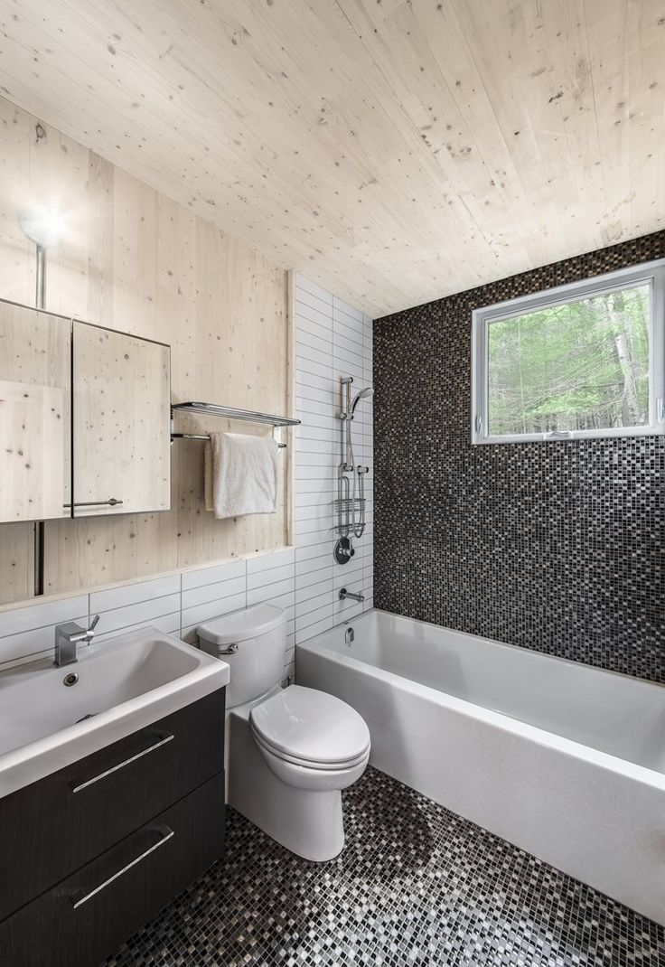 Website Picture Gallery CrossLaminatedTimber Cottage Ladysmith Kariouk Associates Contemporary BathroomsMosaic