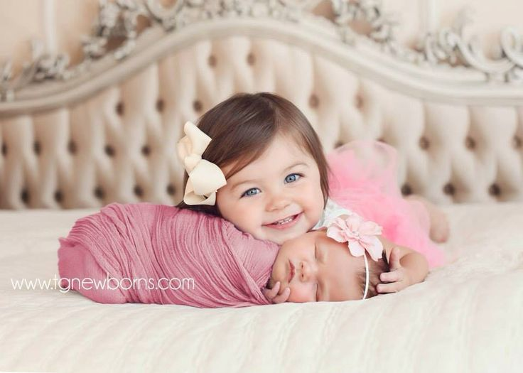 Newborn Pictures With Siblings Ideas
