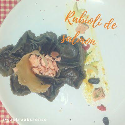 Gastronomía Abulense: Ravioli de salmón