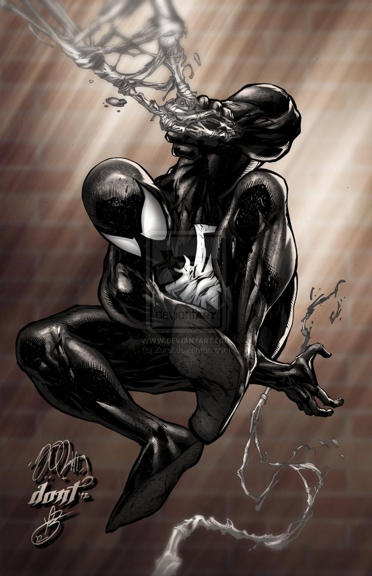 Black Spiderman Comic Spiderman Black...