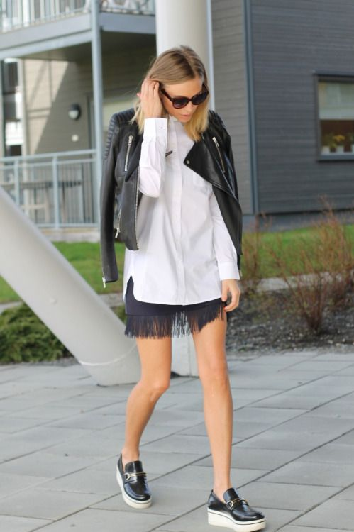 sneakers and pearls, street style, mix and match, comfort and elegance, white shirt, trending now
