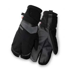 Giro 100 Proof Freezing Weather Cycling Gloves OUR WARMEST GLOVE FEATURING A WATERPROOF SPLIT-FINGER DESIGN FOR RIDING IN FREEZING WET COLD CONDITIONSThe waterproof breathable outer shell has a zippered pocket for hand warmers and a combination of http://www.MightGet.com/april-2017-1/giro-100-proof-freezing-weather-cycling-gloves.asp