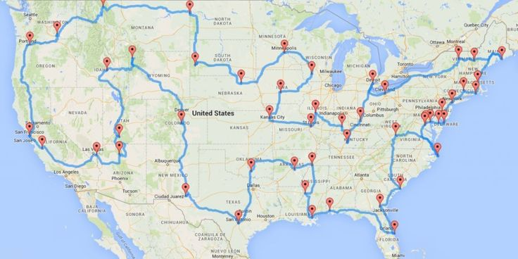 Don't know where to go on your next family road trip? Let your computer decide for you! At least that's what two people did when they decided to plan the a road trip to see the entire United States.   Discovery News Reporter Tracy Staedter got in t...