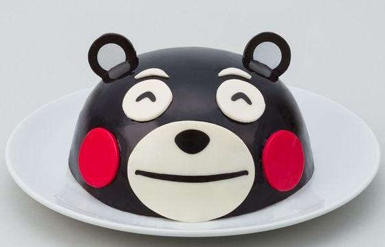 くまモンのクリスマスケーキ「フェイスケーキ」 http://entabe.jp/news/article/2921