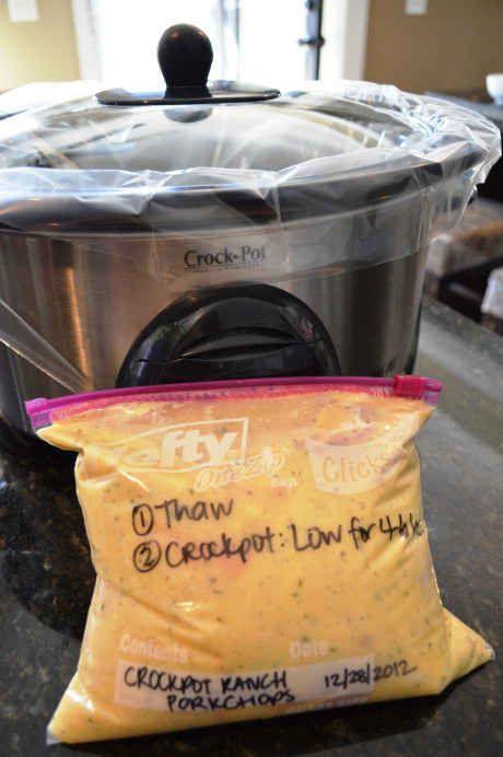 Three-Ingredient Crock Pot Ranch Porkchops