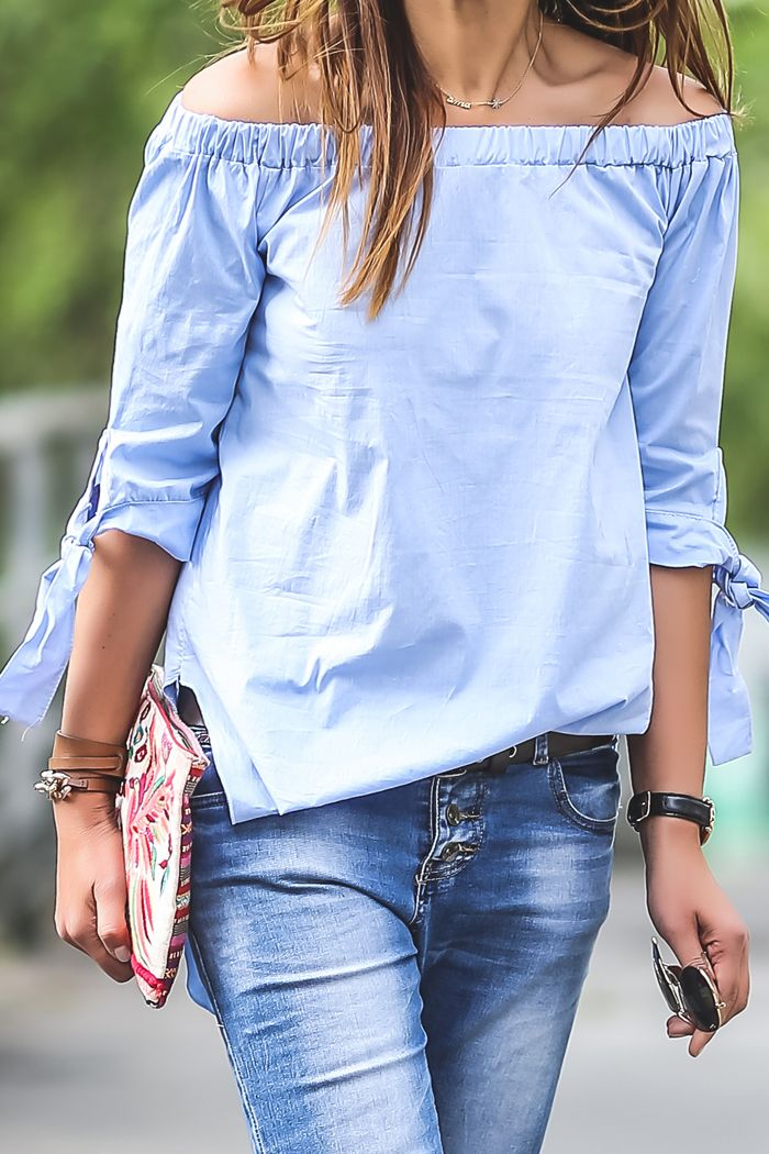 Hombros Al Aire ,Camisa (¡¡ Es cuestión de Estilo !!! - Fashion Blog)