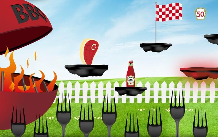 Heinz  http://www.facebook.com/heinz.ketchup.france  + 19 532 fans