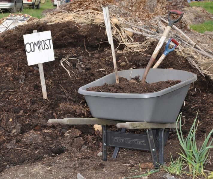 The cold compost method produces compost in one to two years. Hot composting takes three to six months. Photo by Tiffany Woods.